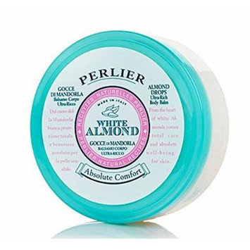 Perlier Absolute Comfort White Almond Body Cream Drops 6.7 Oz