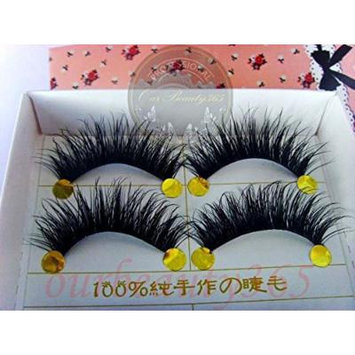 Hot TS013 5 Pairs Smoking Thick Long False Eyelashes beauty Lashes Fake Eye Lashes Makeup