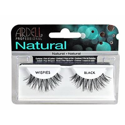 Ardell Eye Lash [ Wispies Black Lashes] ; 10 Pair of Lashes