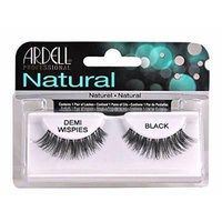 Ardell Invisi Brand Eye Lash DEMI Wispies Black Eye Lashes Natural [1 Pair of Lashes.]