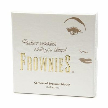 Frownies Facial Pads, Use on Corners of Eyes & Mouth, White Packaging 144