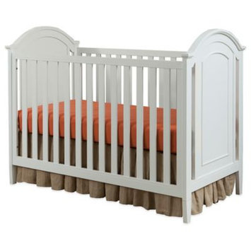 Westwood Designs Harper Cottage Crib with Detailed End Panels in White