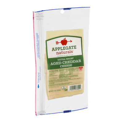 Applegate Naturals Extra Sharp Aged Cheddar Cheese