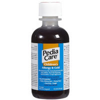 Pediacare Children's Allergy and Cold Grape, 4-Ounce