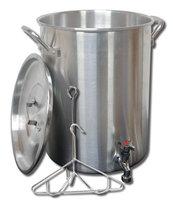 King Kooker Aluminum Turkey Pot with Spigot - 30 qt.