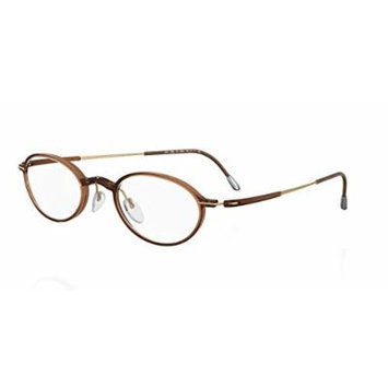 Silhouette Eyeglasses 2877 6053 Titan Dynamics Fullrim Titanium 2877-6053-47mm