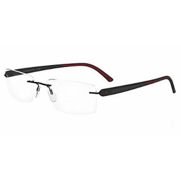 Silhouette Eyegalsses Carbon T1 5373 6054 Black / Red 5373-6054