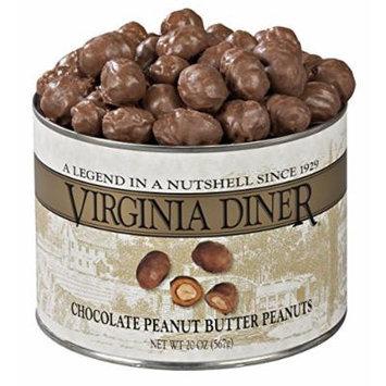 Virginia Diner Chocolate Peanut Butter Peanuts, 20 Ounce
