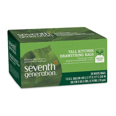 Seventh Generation Drawstring Tall Kitchen Bags