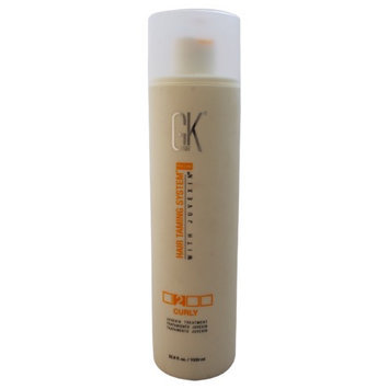 Hair Taming System Curly Juvexin Treatment by Global Keratin for Unisex - 33.8 oz Treatment