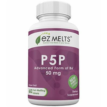 EZ Melts P5P, 50 mg, Fast Melting Tablets