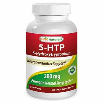 Best Naturals 5-HTP 200 Mg 120 Vcaps