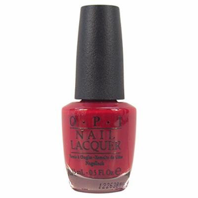OPI Nail Lacquer, # NL A34 Quarter of a Cent-Cherry, 0.5 Ounce