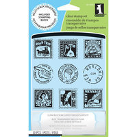 Inkadinkado INCH30901 Inkadinkado Inchie Clear Stamps Postage