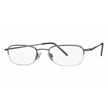 Flexon Flx 807Mgc-Clip Eyeglasses 033 Light Gunmetal Demo 49 20 0