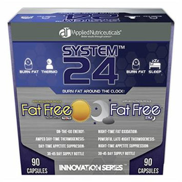 SYSTEM24 (Fat Free AM + Fat Free PM) Applied Nutriceuticals