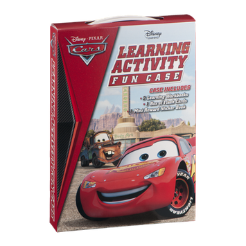 Disney Cars Learning Activity Fun Case