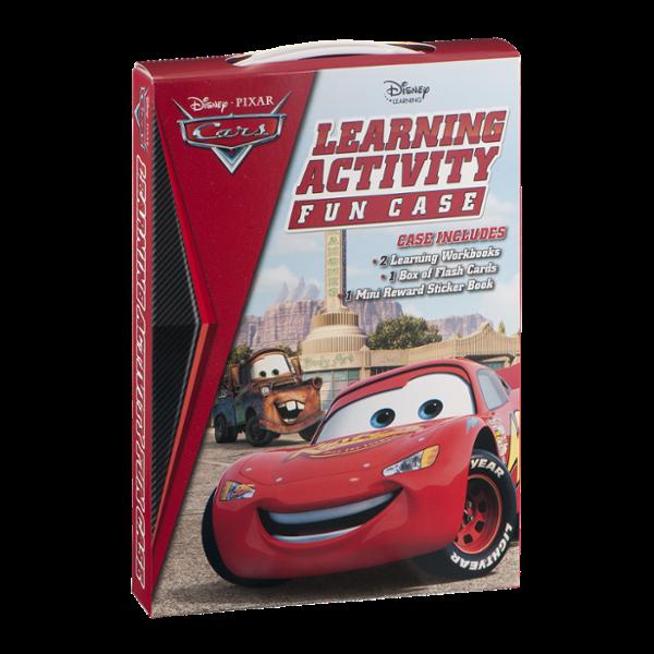 Disney Cars Learning Activity Fun Case