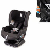 Peg Perego USA Primo Viaggio Convertible Car Seat w Cup Holder, Charcoal (Atmosphere)