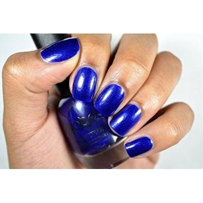 Probelle Long Lasting Nail Lacquer .5 Fl Oz (Choose Color) (Blue Shimmer (Blue Shimmer))