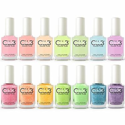 Color Club Poptastic Pastel Neon + Remix Collection 2015 Set of 14 Colors