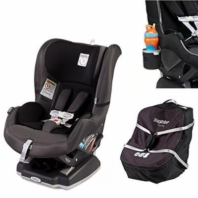 Peg Perego Primo Viaggio Infant Convertible Car Seat w Car Seat Travel Bag & Cup Holder (Atmosphere)