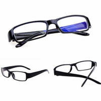 Spectacles retro KE Unisex Comfy Nearsight Myopic Lens Glasses Black Muti Strength -6.0
