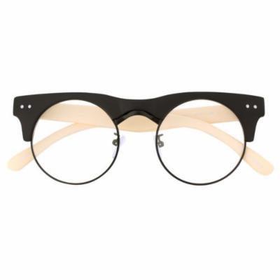 Spectacles retro KE Mens Womens Wayfarer Retro Nerd Designer Frames Clear Lens Glasses Eyewear Style 03
