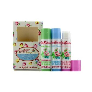 Cath Kidston - Wild Flowers Lip Balm Set: Wild Rose + Bluebell + Honeysuckle