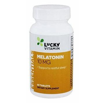LuckyVitamin - Melatonin 10 mg. - 60 Tablets