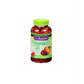 Vitafusion Vitamin D3, 2000 IU, Gummy Vitamins 150 ea Pack of 2