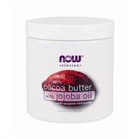 NOW Foods - Cocoa Butter with Jojoba Oil Multi-Purpose Moisturizer - 6.5 oz.