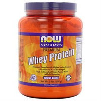 NOW Foods - Whey Protein Natural Vanilla - 2 lbs.