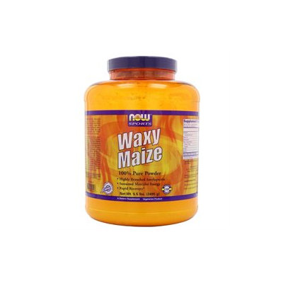 NOW Foods - Waxy Maize 100 Pure Powder - 5.5 lbs.