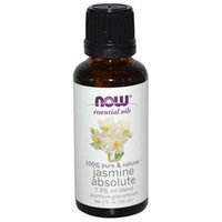 NOW Foods - Jasmine Absolute 7.5 Pct Oil - 1 oz.