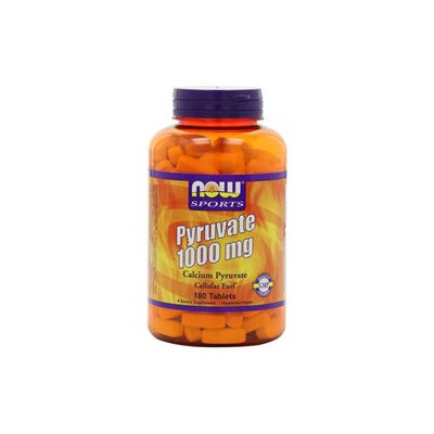 NOW Foods - Pyruvate Extra Strength 1000 mg. - 180 Tablets