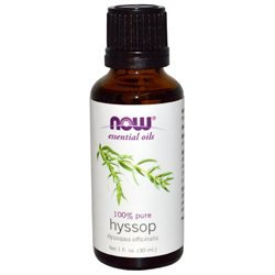 HYSSOP OIL 1 OZ by Now Foods