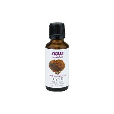 NOW Foods - Myrrh Oil Blend 100 Natural - 1 oz.