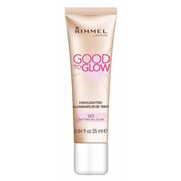 Rimmel London Good To Glow Highlighter, Illuminator - 001 Notting Hill Glow 25ml