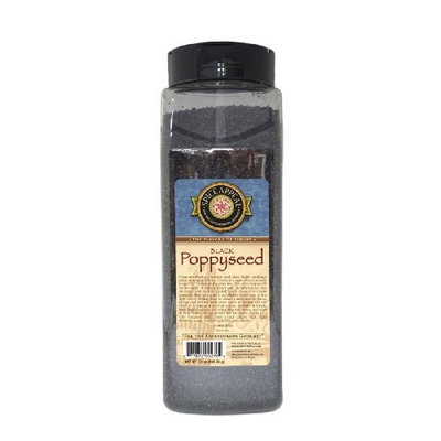 Spice Appeal Poppyseed (Black), 21-Ounce Jars (Pack of 2)