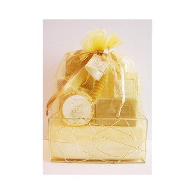 Crystal Waters Spa Vanilla Amber Bath Gift Set