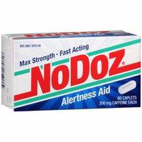 NoDoz Alertness Aid Caplets 60 each Pack of 2