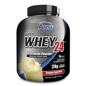 ANSI - Ultra Whey 24 Hi-Protein Powder (Banana Supreme, 5 LB)