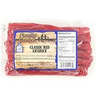 Family Choice 8 Ounce Classic Red Licorice 1117 by Rucker's Candy