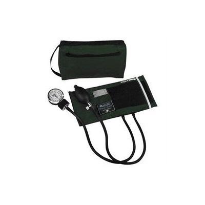 Mabis MABIS MatchMates Aneroids Sphygmomanometers Kit, Hunter Green