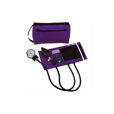 Mabis 01-160-201 MatchMates Aneroid Sphygmomanometer Kit - Purple