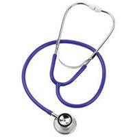 Mabis Healthcare MABIS Spectrum Dual Head Stethoscopes, Blue