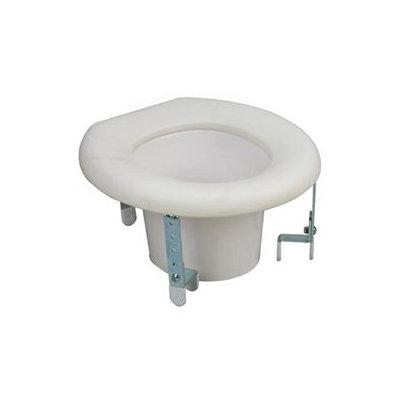 Mabis 522-1507-1900 Universal Plastic Raised Toilet Seat