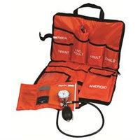 Mabis Medic-Kit3 EMT Kit, 3 Sizes Cuffs, Orange