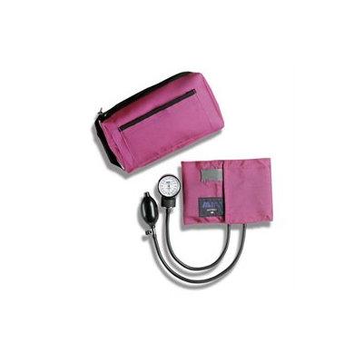 Mabis 01-160-151 MatchMates Aneroid Sphygmomanometer Kit - Magenta